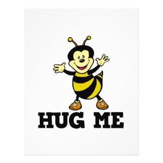 abráceme abeja tarjeton