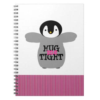 Abráceme cuaderno apretado del amor