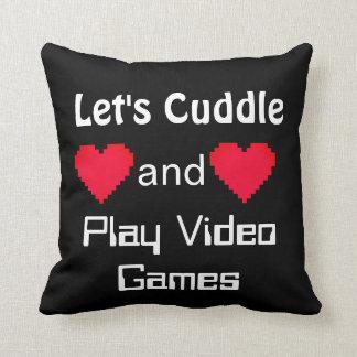 Abracemos y juguemos la almohada de los