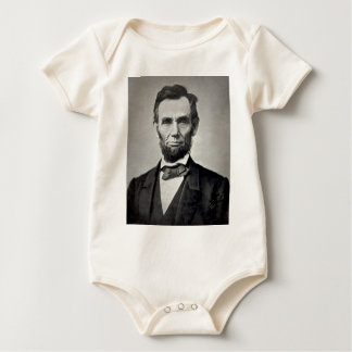 ¡Abraham Lincoln! Body Para Bebé