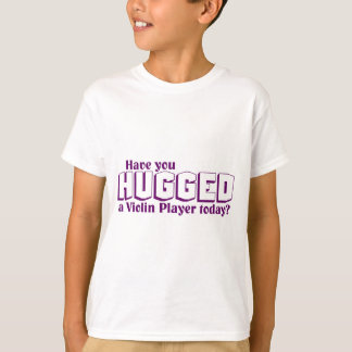 Abrazó a un jugador del violín camiseta