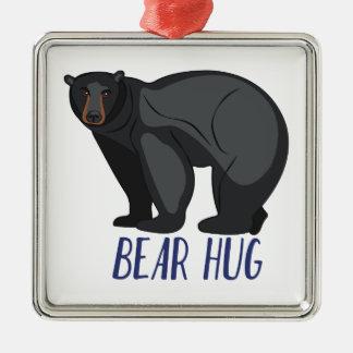 Abrazo de oso adorno de cerámica