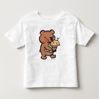 Abrazo de oso grande de Leslie Patricelli Brown Camiseta De Bebé