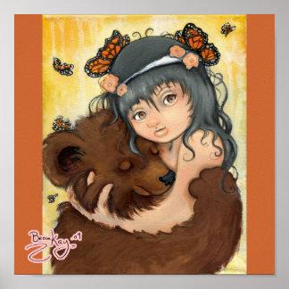 Abrazo de oso póster
