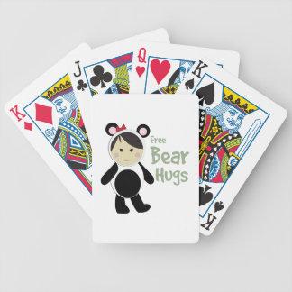 Abrazos de oso libres barajas de cartas