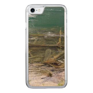 Abre una sesión el lago funda para iPhone 8/7 de carved