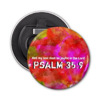Abrebotellas 35:9 del salmo