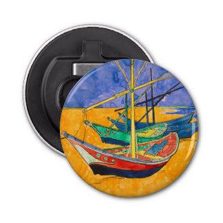 Abrebotellas Barcos de Vincent van Gogh impresionistas