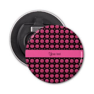 Abrebotellas Botones brillantes glamorosos del brillo de las