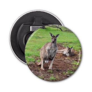Abrebotellas Canguro australiano del dólar, abrelatas de