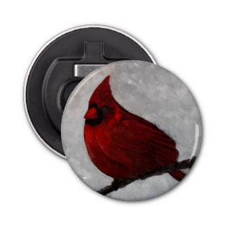 Abrebotellas cardinal del botón