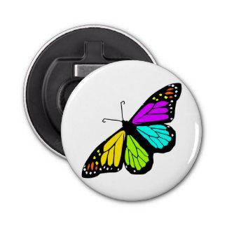 Abrebotellas Clipart colorido de la mariposa