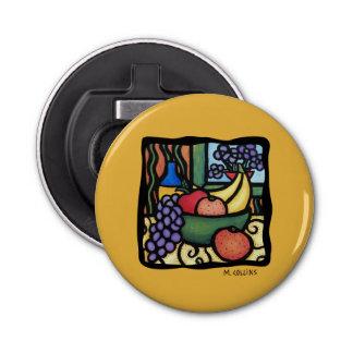 Abrebotellas Cocina del amarillo de la fruta de los plátanos de