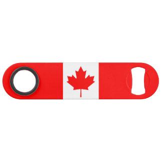 Abrebotellas De Bar Bandera nacional patriótica de CANADÁ