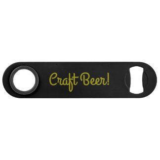 Abrebotellas De Bar Cerveza del arte - negro del oro