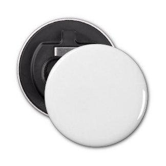 Abrebotellas de encargo del botón abrebotellas redondo