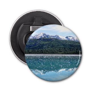 Abrebotellas de las reflexiones de la montaña