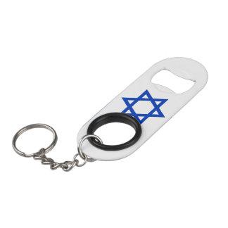 Abrebotellas De Llavero Bandera de Israel