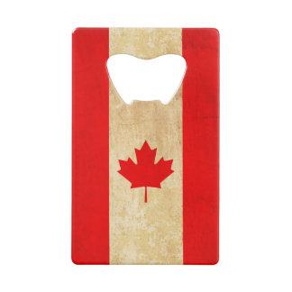 Abrebotellas De Tarjeta De Crédito Bandera nacional patriótica del vintage original