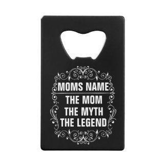 Abrebotellas De Tarjeta De Crédito El día de madre feliz de la mamá