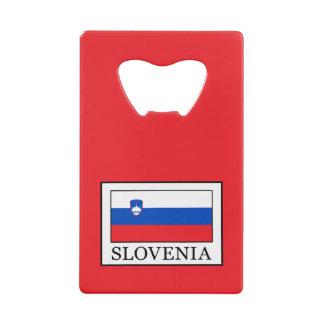 Abrebotellas De Tarjeta De Crédito Eslovenia