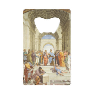 Abrebotellas De Tarjeta De Crédito Raphael - La escuela de Atenas 1511