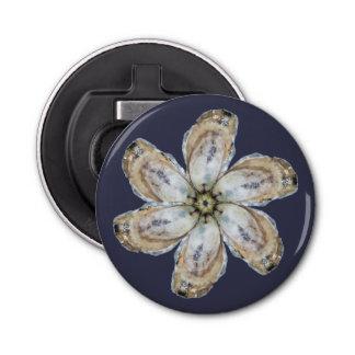 Abrebotellas del imán de la flor de la ostra -