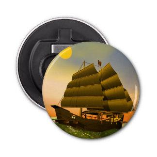 Abrebotellas Desperdicios orientales por puesta del sol - 3D