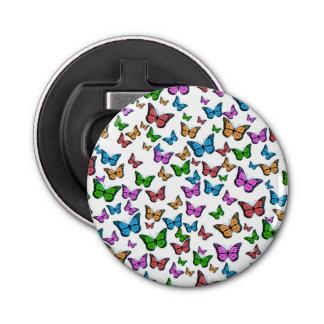 Abrebotellas Diseño del modelo de mariposas