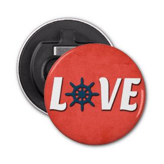 Abrebotellas Diseño náutico del amor