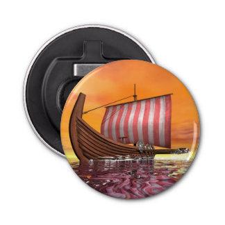 Abrebotellas Drakkar o nave de vikingo - 3D rinden