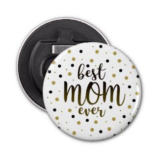 Abrebotellas El mejor negro siempre de oro de la mamá puntea el