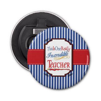 Abrebotellas Éste es un profesor realmente increíble