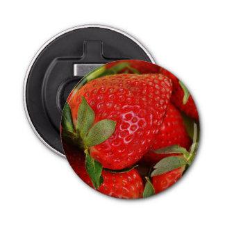 Abrebotellas Fresas dulces rojas