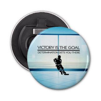 Abrebotellas Lema SUPERIOR de la victoria del hockey
