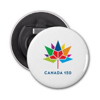 Abrebotellas Logotipo del funcionario de Canadá 150 -