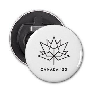 Abrebotellas Logotipo del funcionario de Canadá 150 - esquema