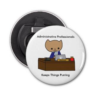 Abrebotellas Los profesionales administrativos guardan cosas el