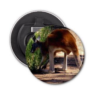 Abrebotellas magnético del canguro australiano