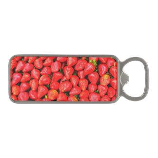 Abrebotellas Magnético ¡Muchas fresas!