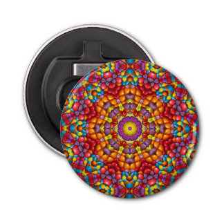 Abrebotellas magnético Yum Yum del caleidoscopio