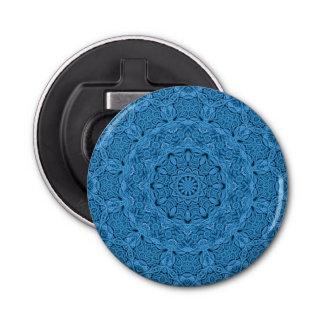 Abrebotellas magnéticos azules decorativos