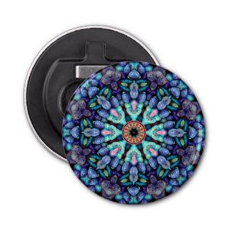 Abrebotellas magnéticos del caleidoscopio de abrebotellas redondo