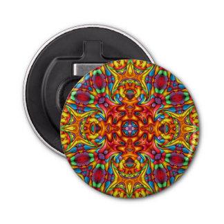Abrebotellas magnéticos del caleidoscopio extraño