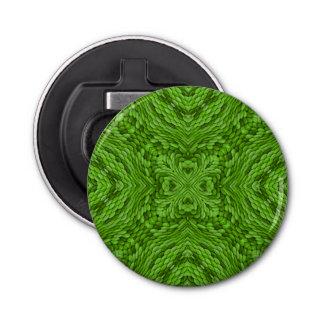 Abrebotellas magnéticos del caleidoscopio   verde