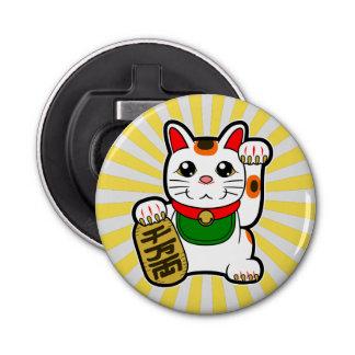 Abrebotellas Maneki Neko: Gato afortunado japonés