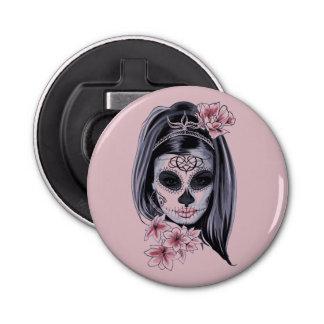 Abrebotellas Máscara del esqueleto de la mujer