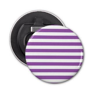Abrebotellas Modelo púrpura y blanco de la raya