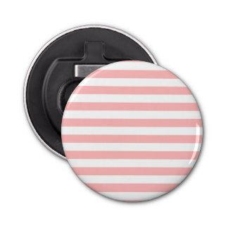 Abrebotellas Modelo rosado y blanco de la raya