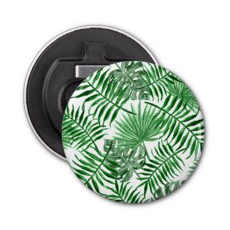 Abrebotellas Modelo verde tropical del verano de las hojas de